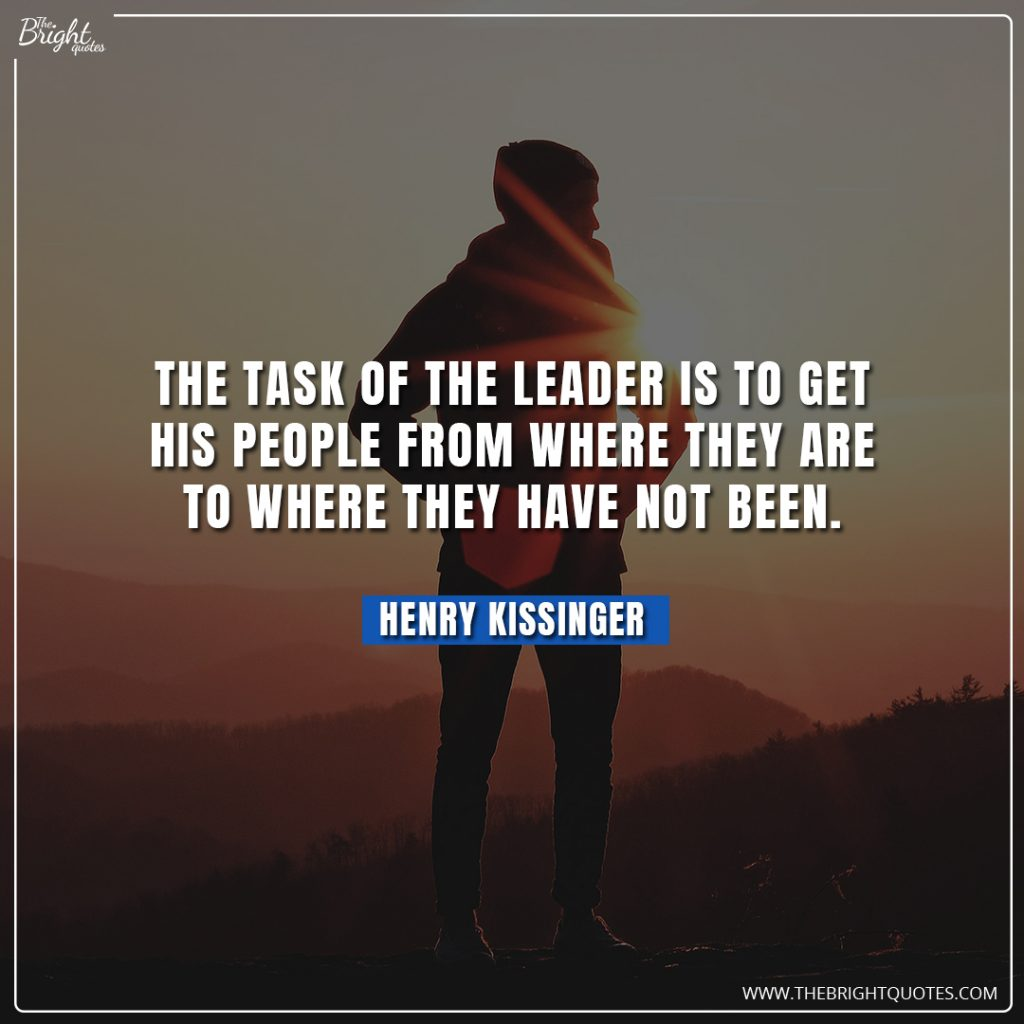 famous quotes leadership