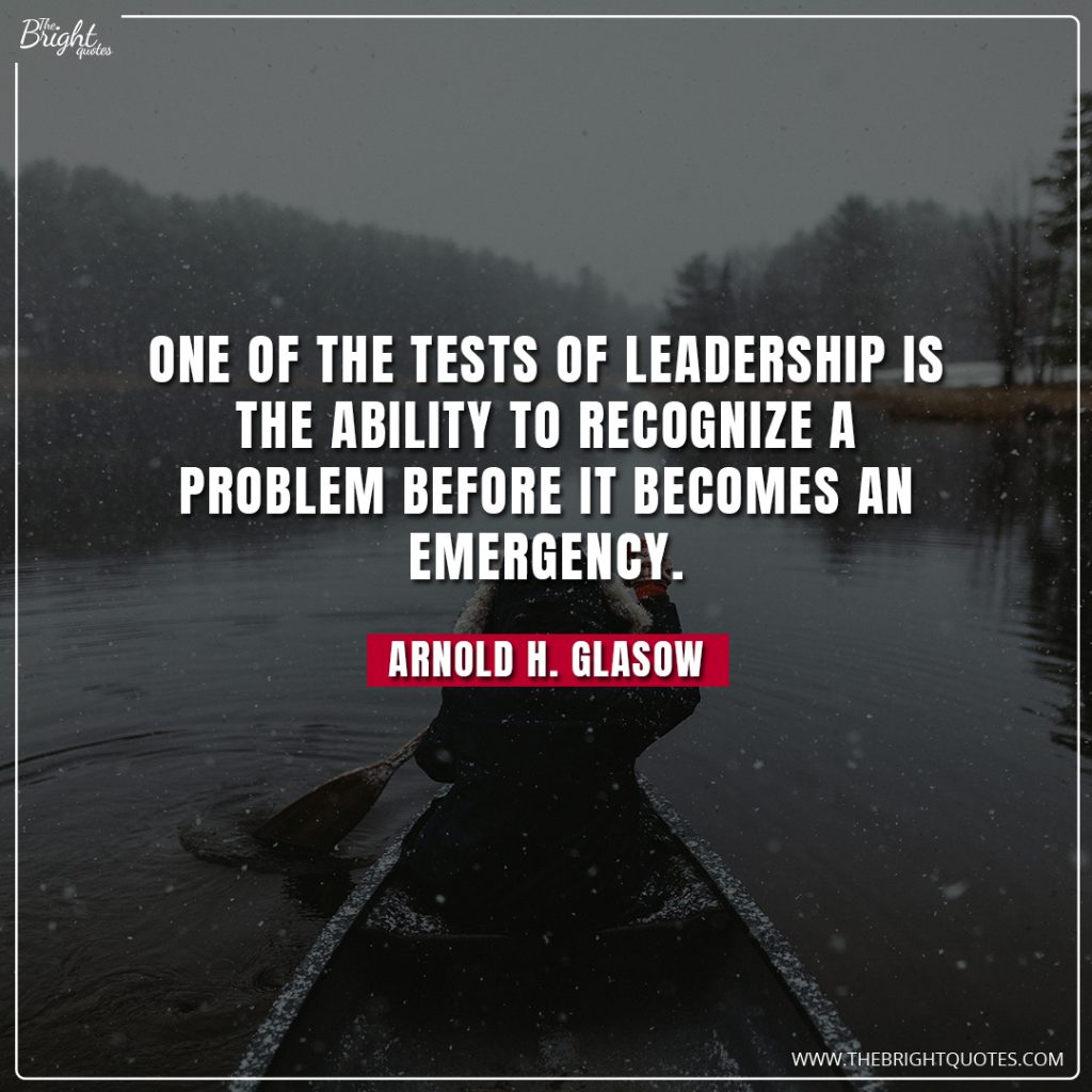 outstanding leadership quotes