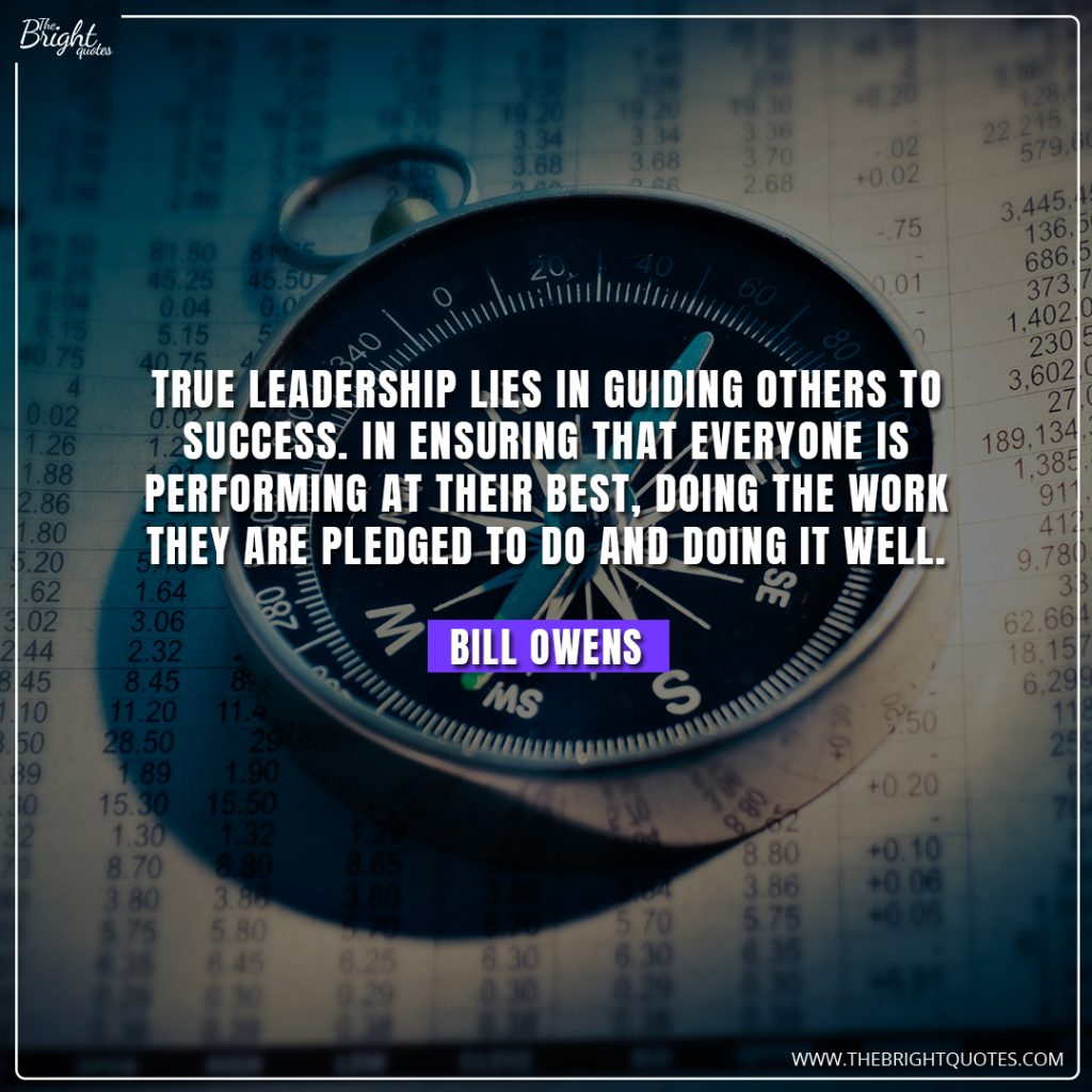 leadership quality quotes