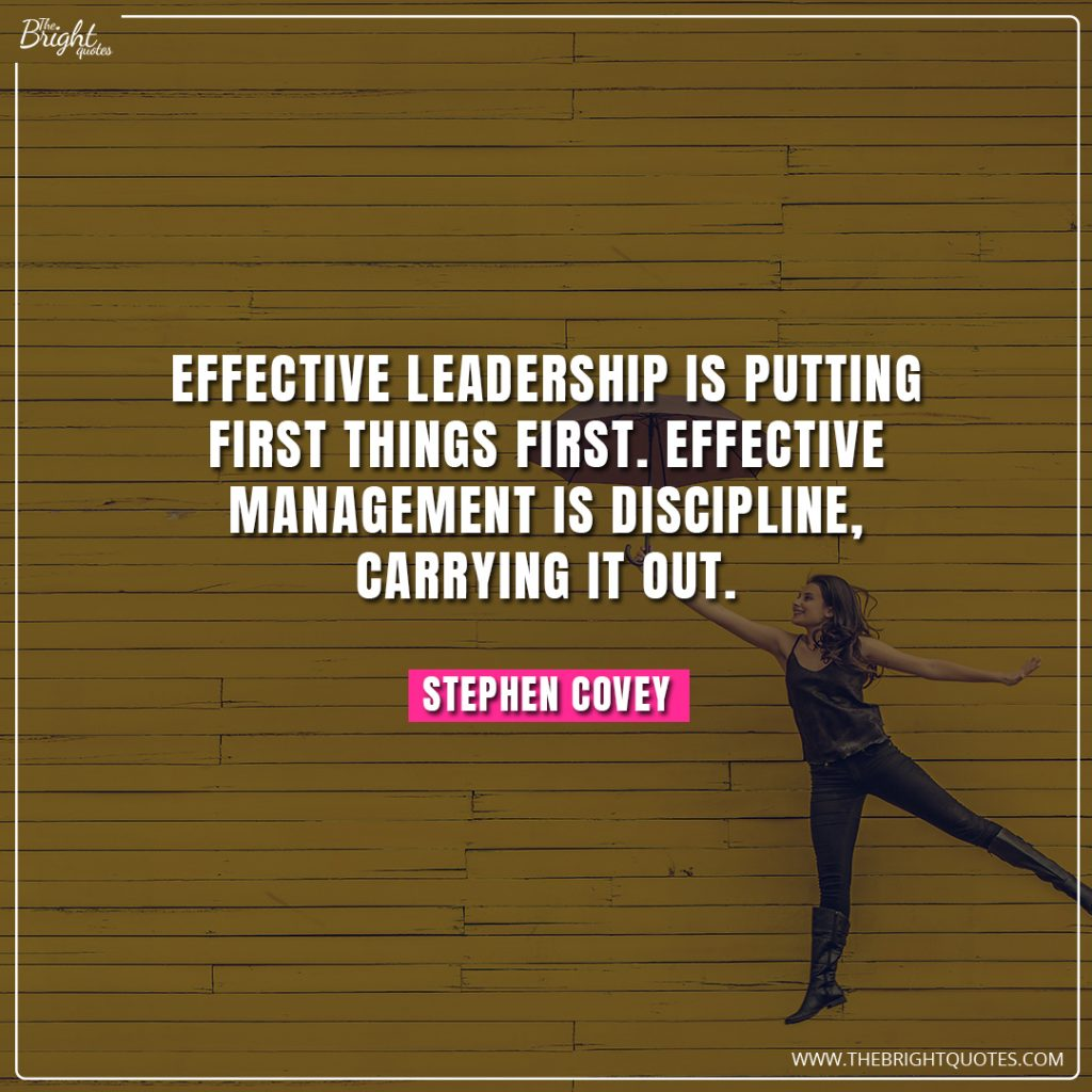 strong leadership quotes