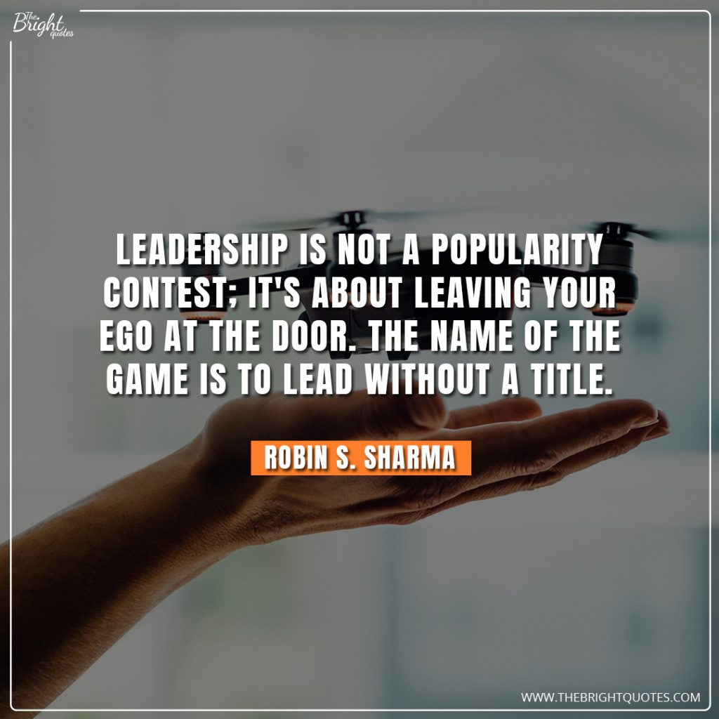 simple leadership quotes