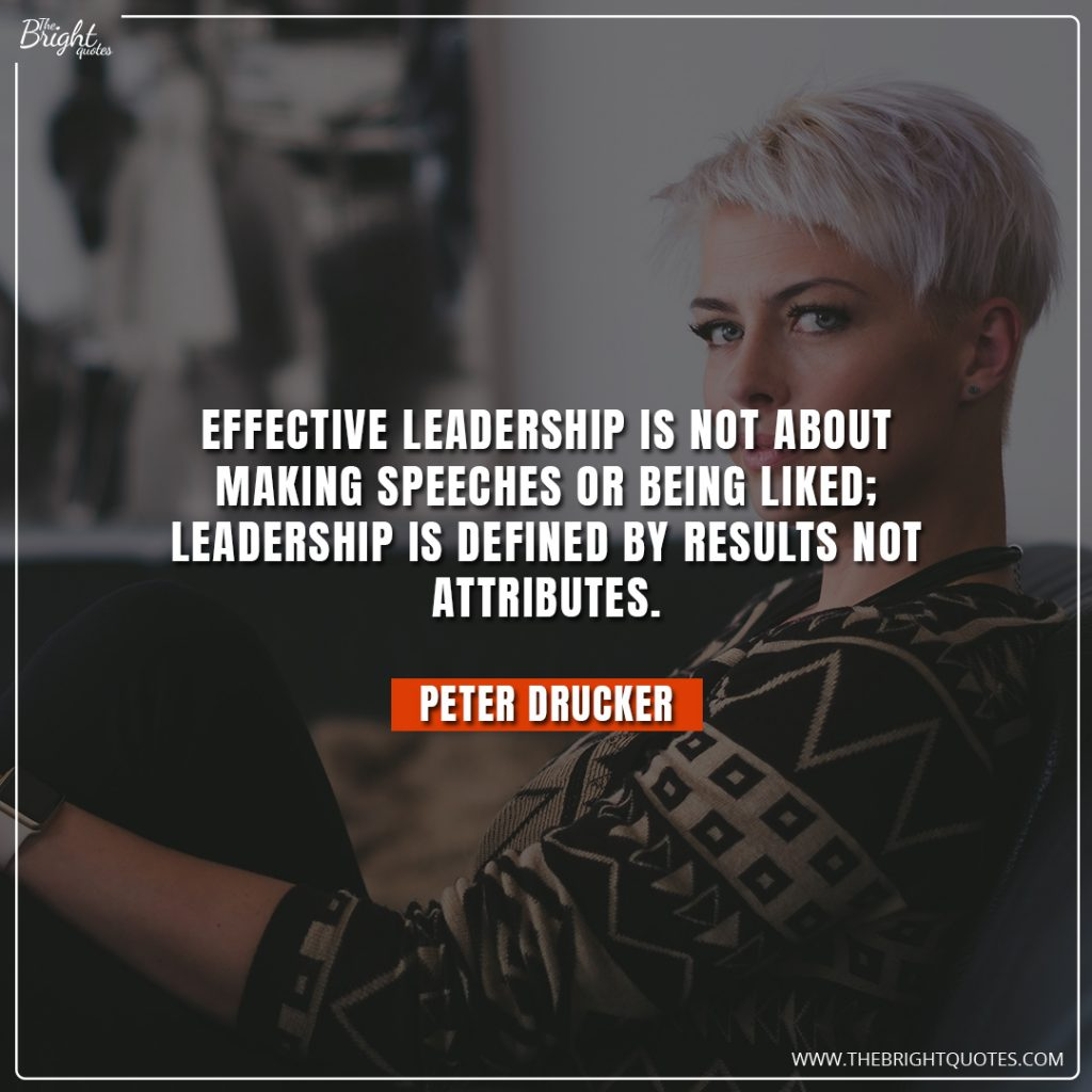 leadership and management quotes