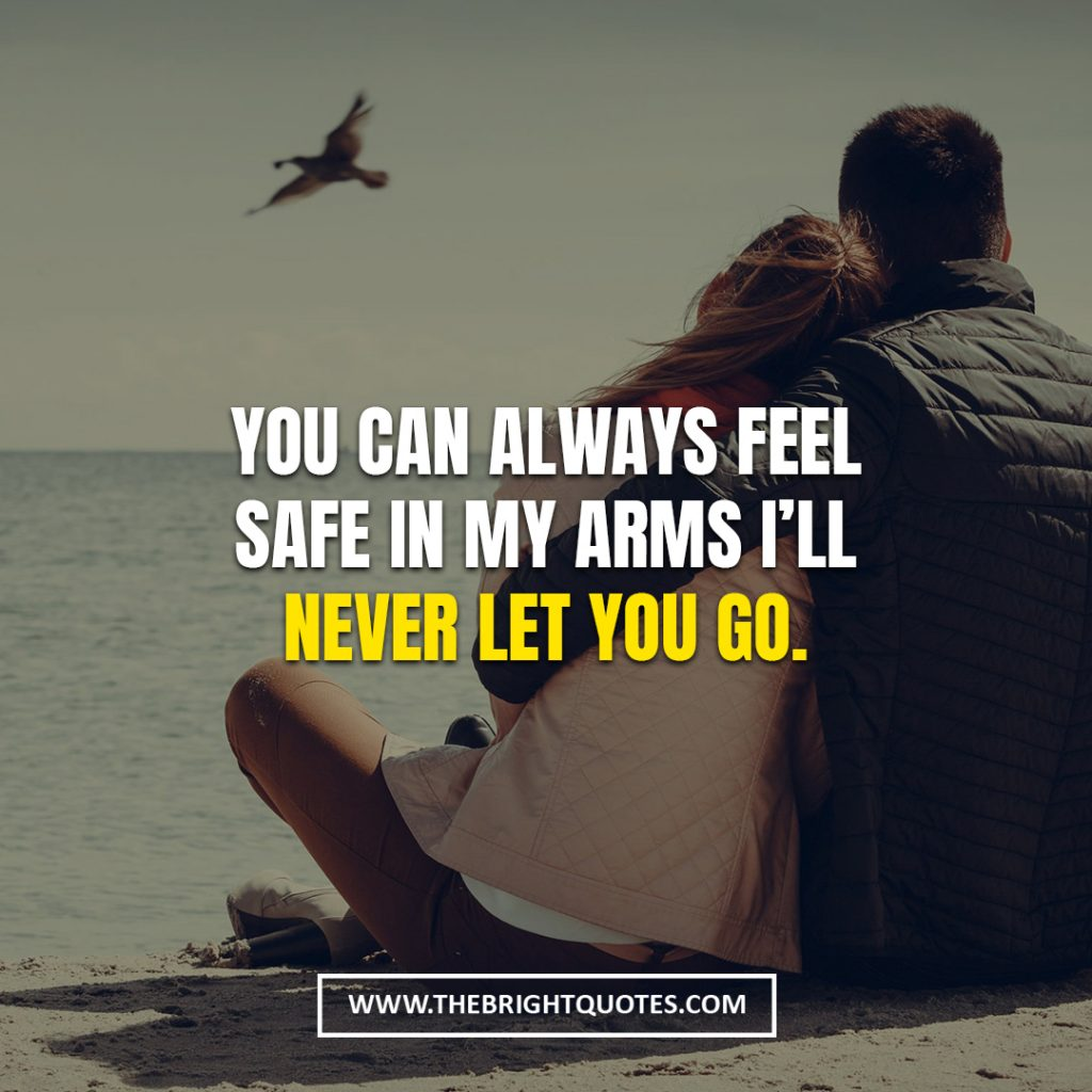 love quotes for her to make her feel safe