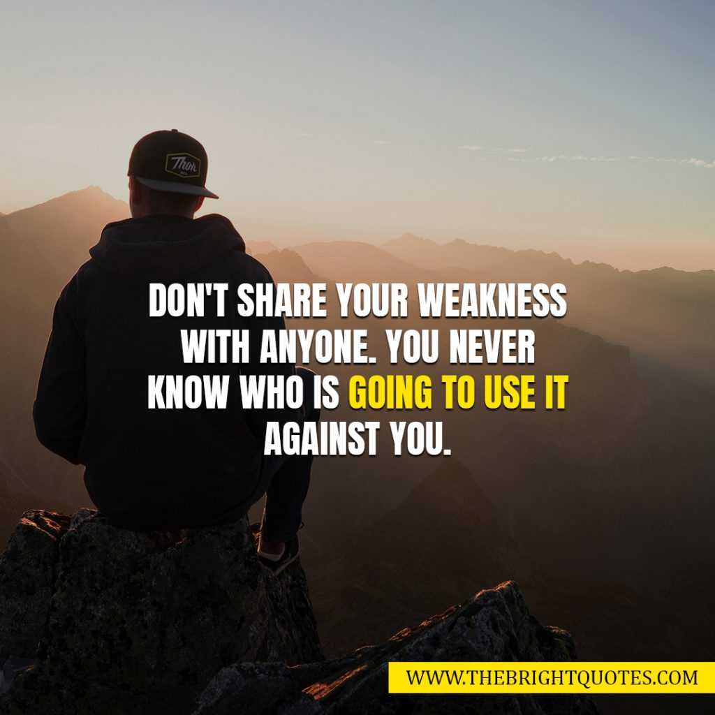 best positive quotes for weakness