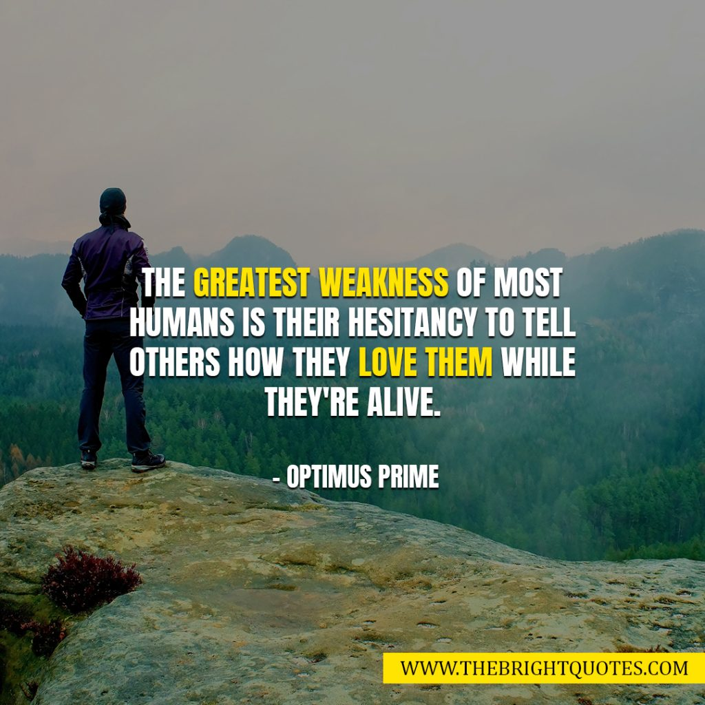 the greatest weakness of humans