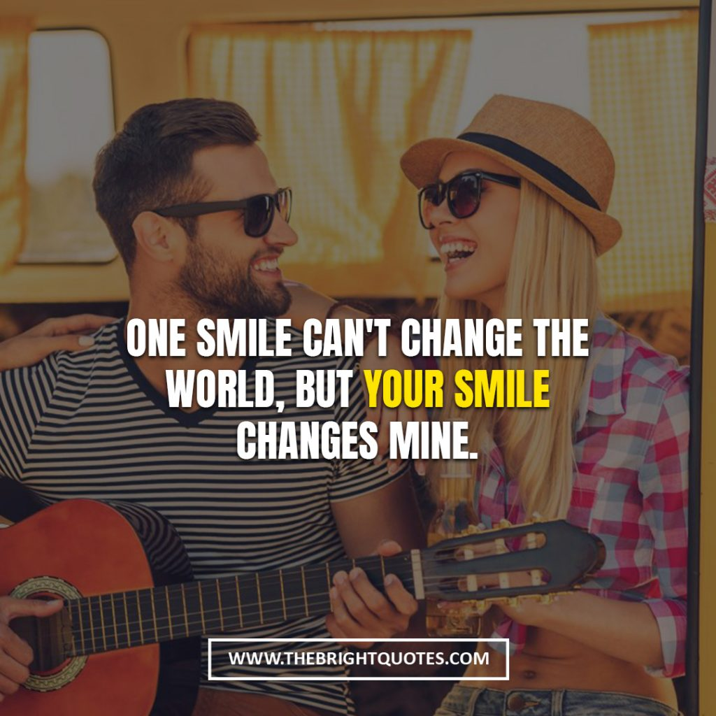 love quotes for her smile