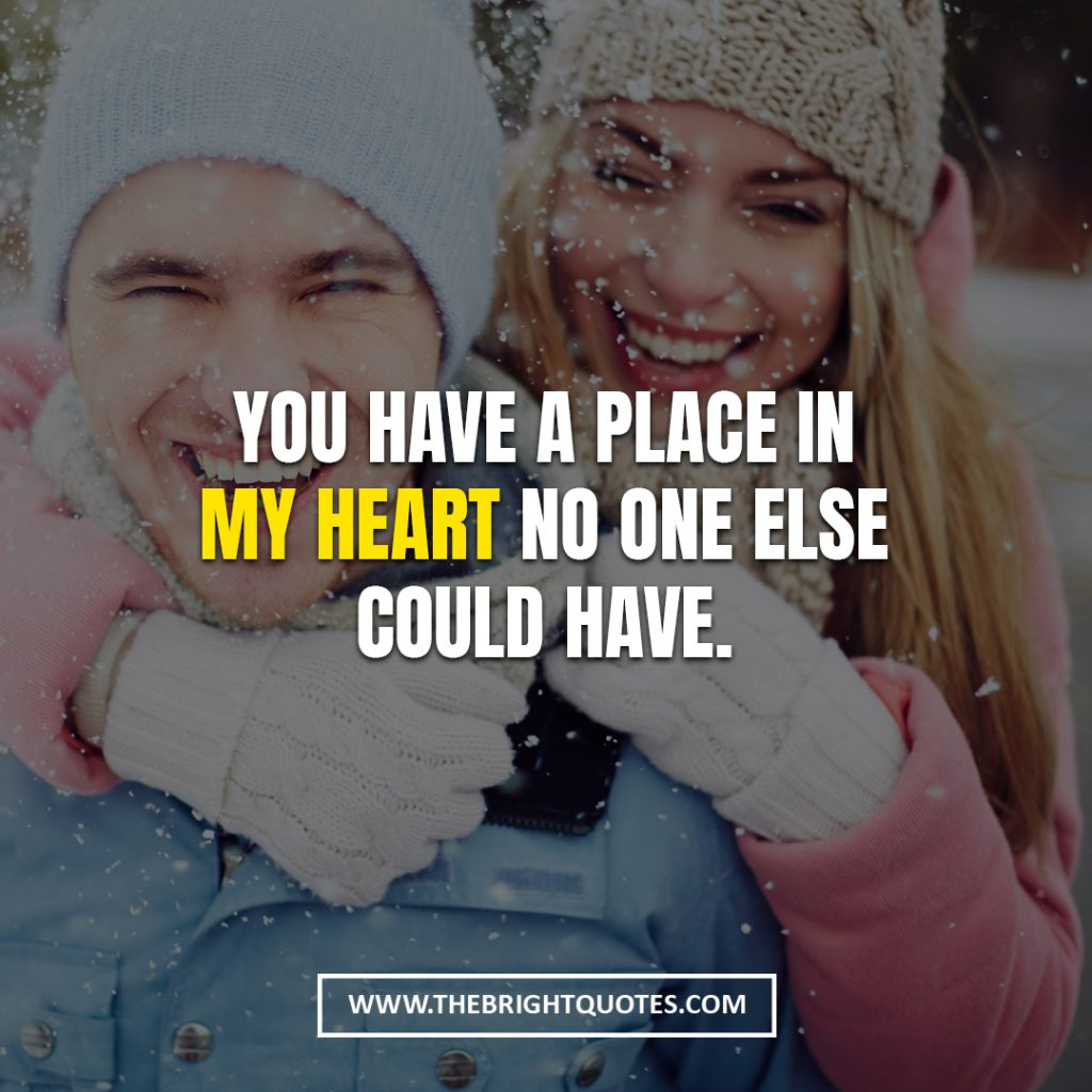 love quotes for her to feel your heart