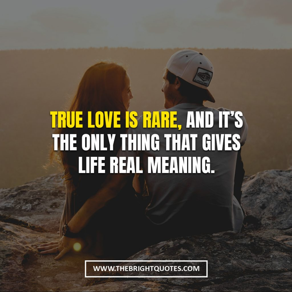 true love is rare love quotes for her
