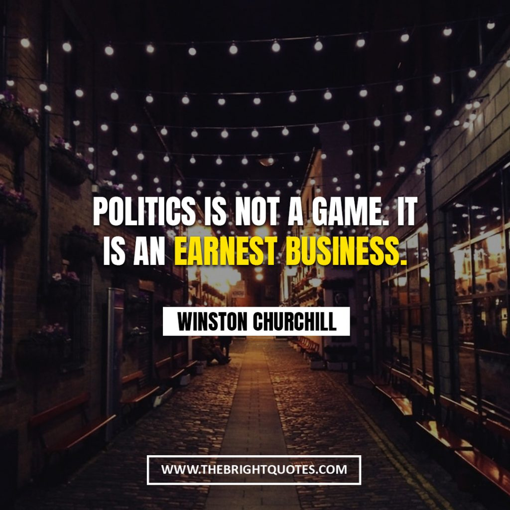 Winston Churchill quote about business