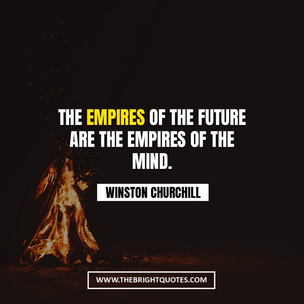 Winston Churchill quote about future