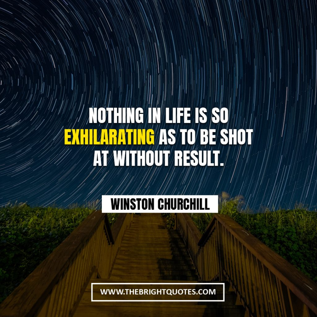 Winston Churchill quote about life