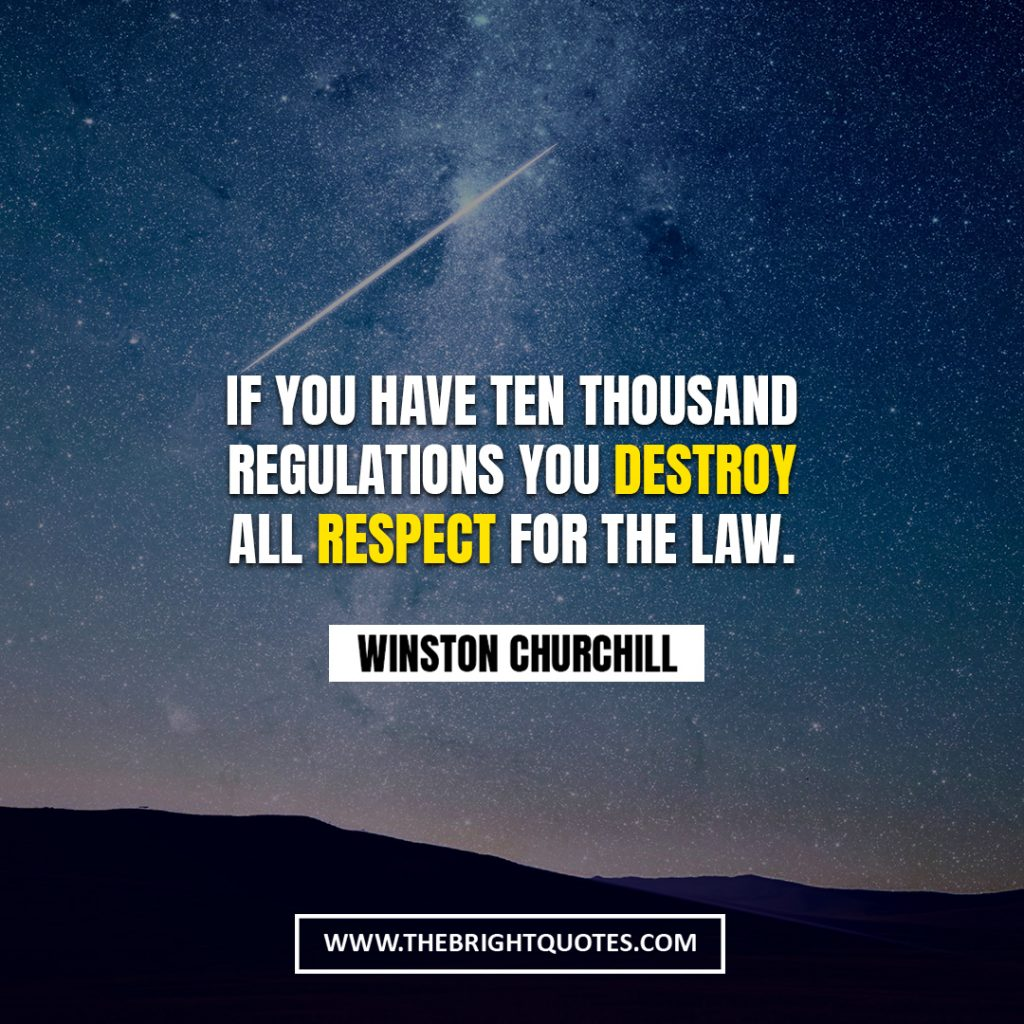 Winston Churchill quote about politics