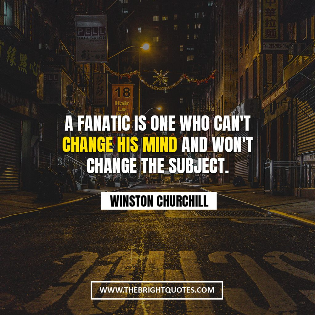 Winston Churchill quote about change
