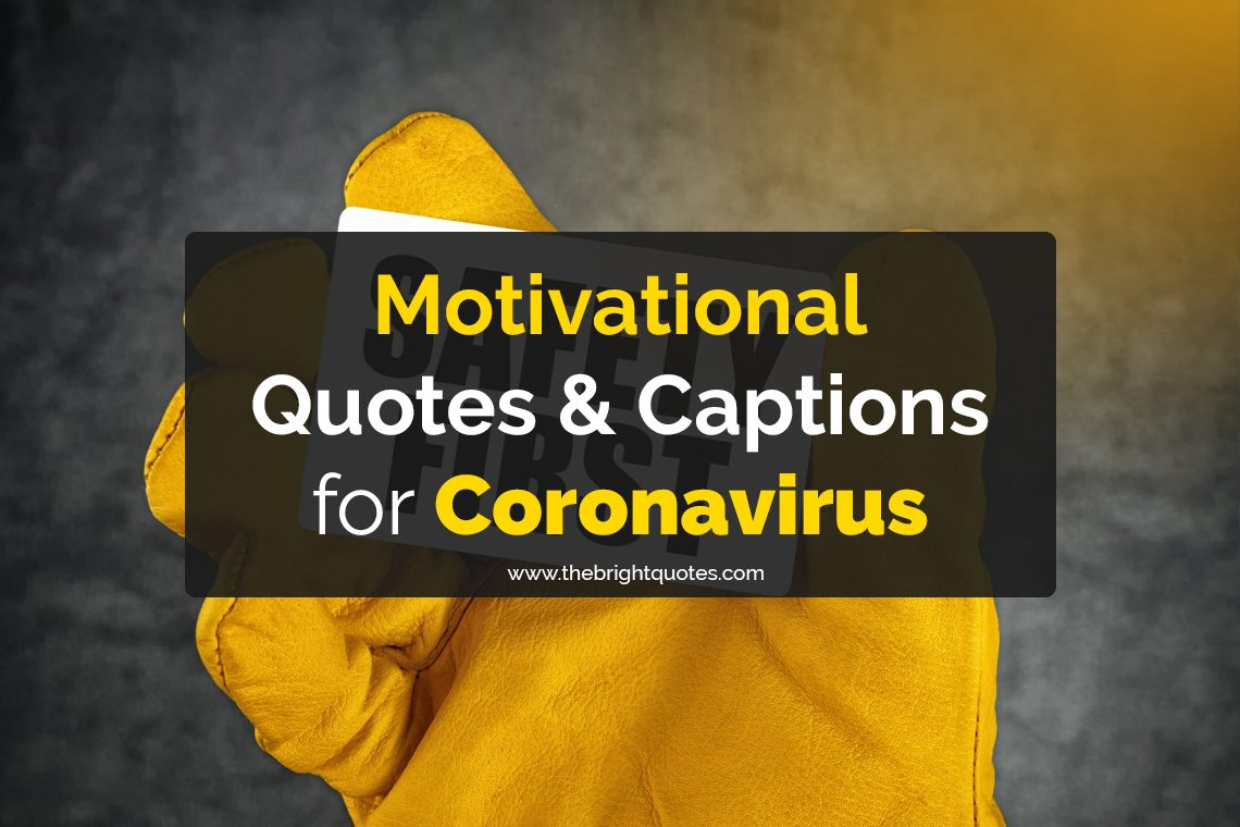 motivational quotes for coronavirus