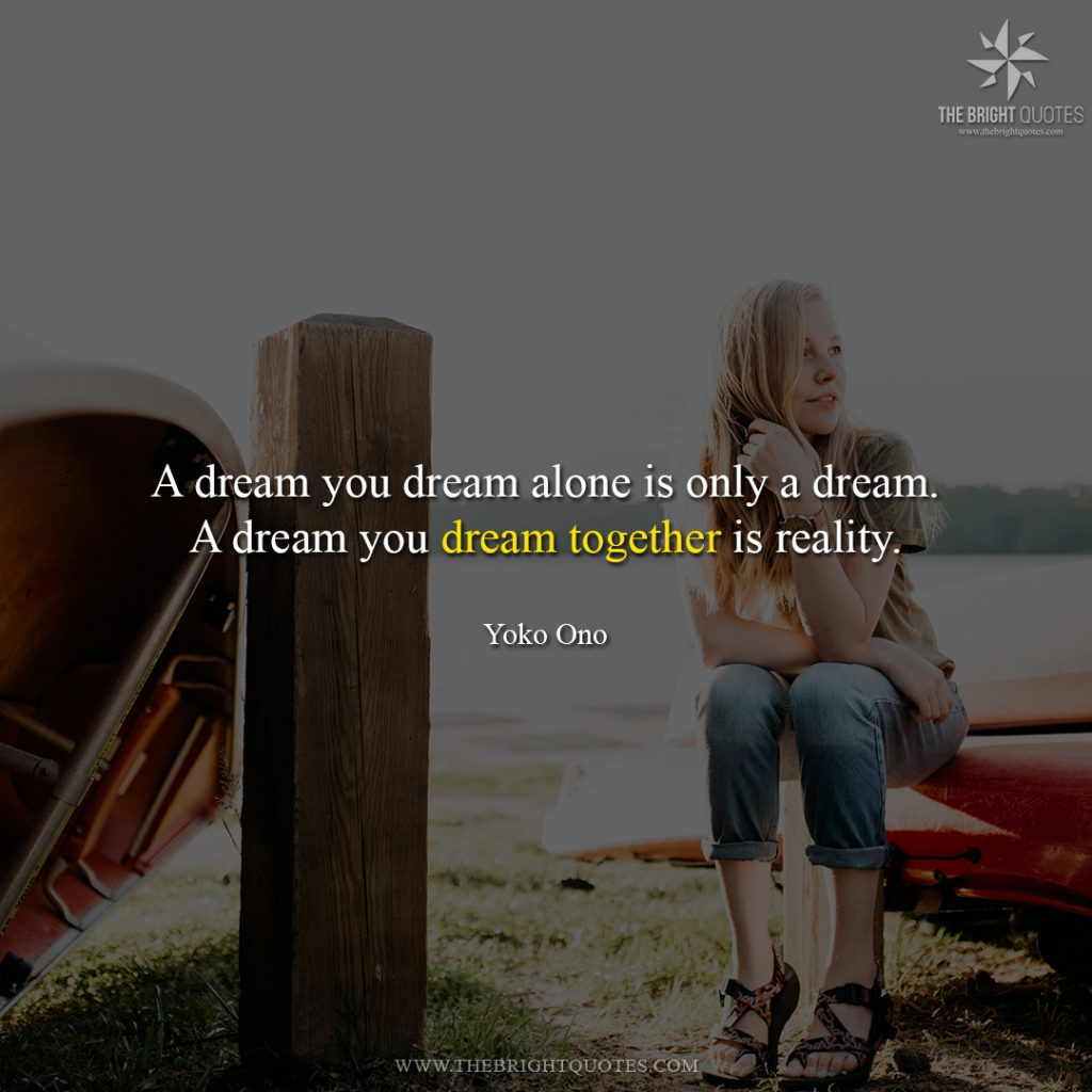 a quote about dreams