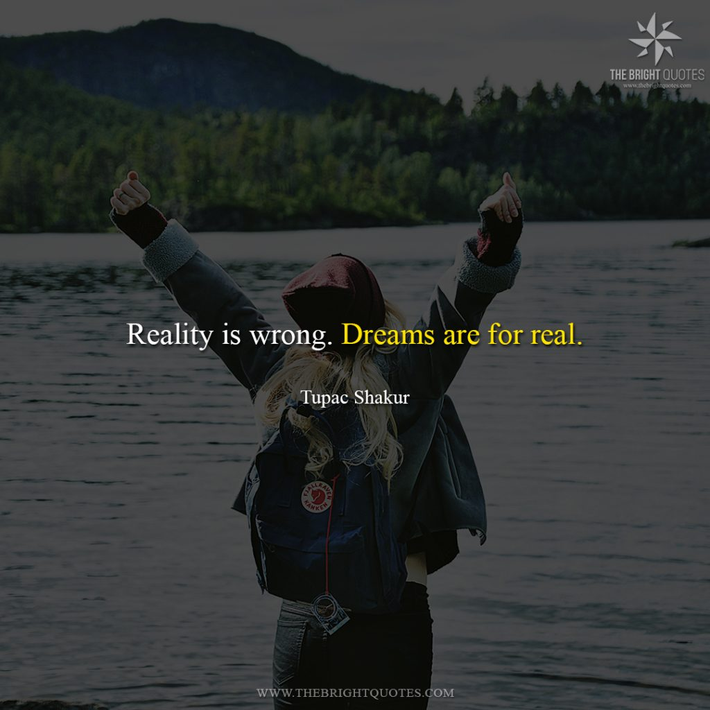 dream in life quotes
