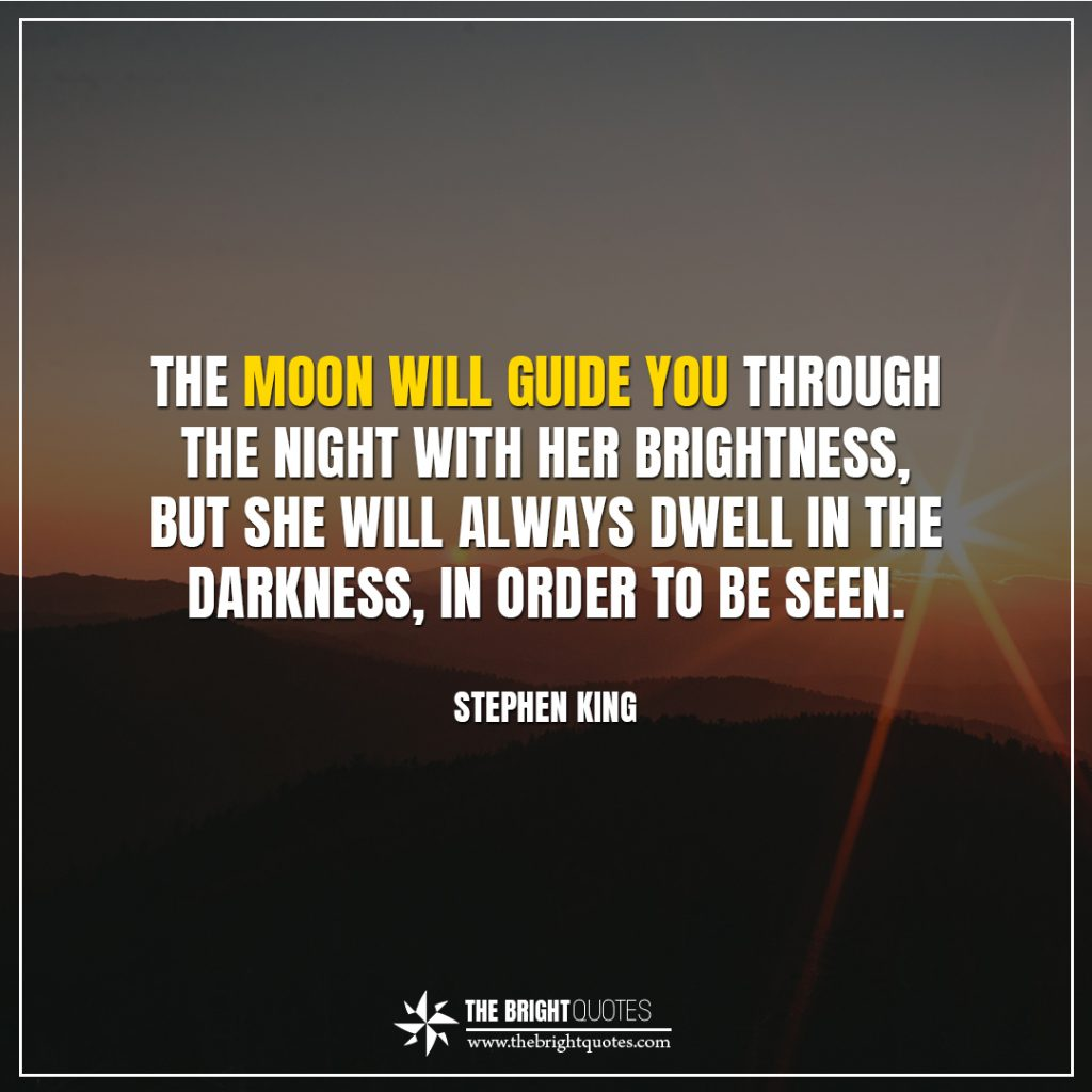 Shannon L Alder bright quotes the moon will guide you through the night