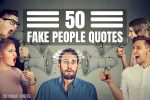 fake people quote featured image