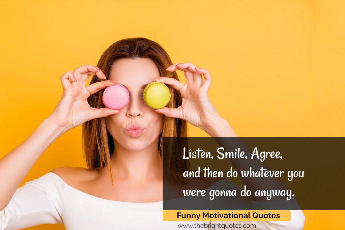 funny motivational quotes featured image