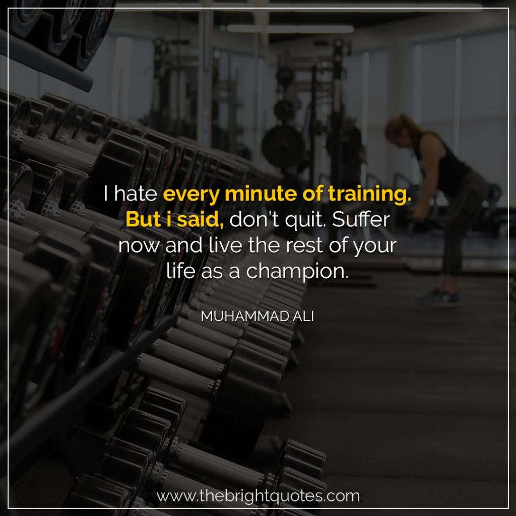 workout quotes for her