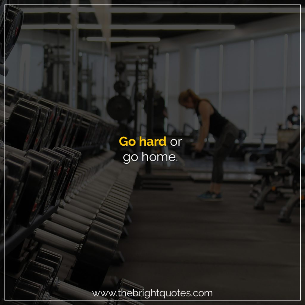 home workout quotes