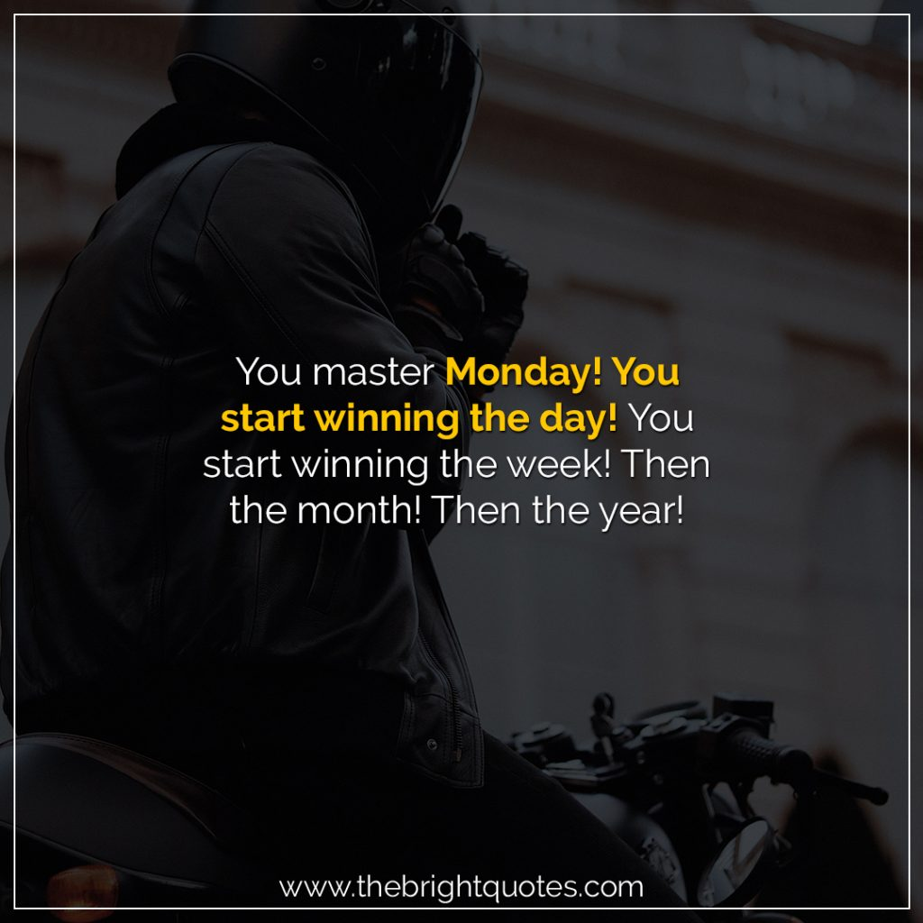 monday motivation quotes for work
