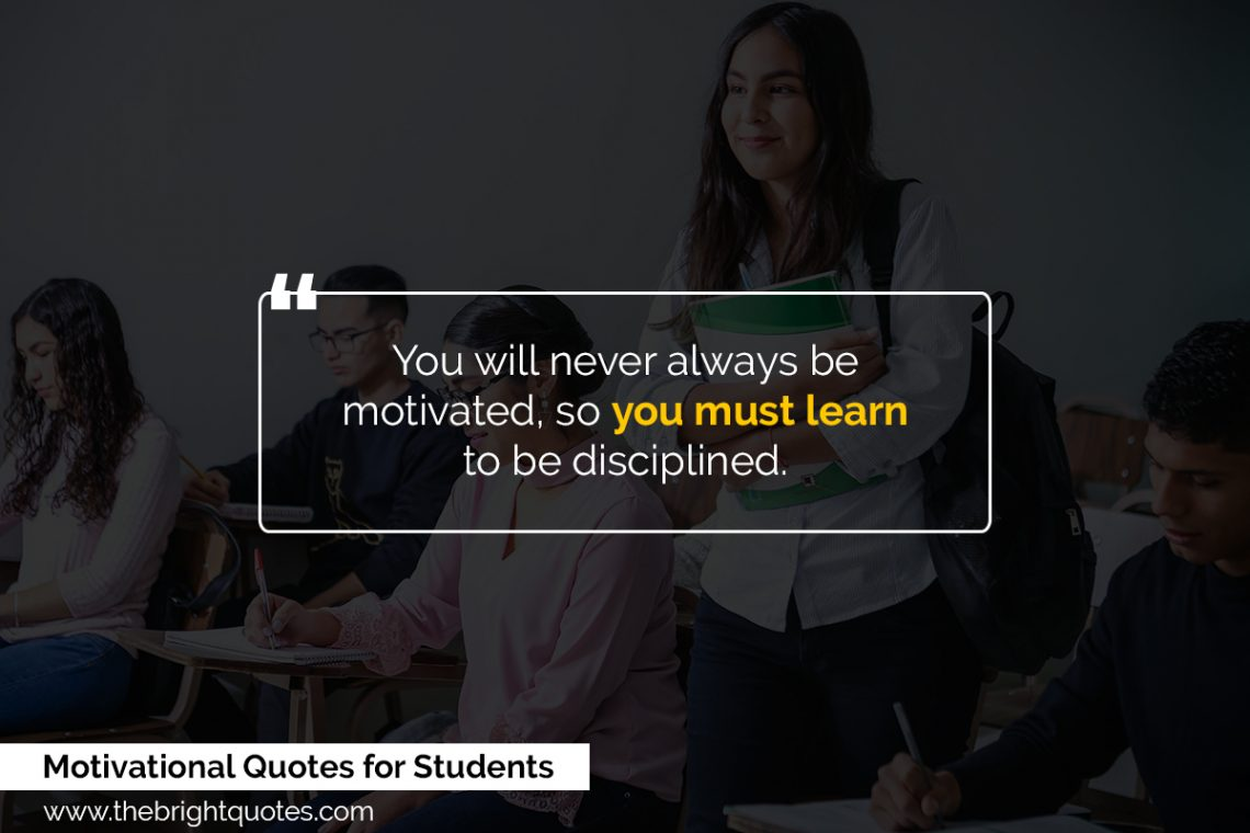 motivational quotes for students featured image