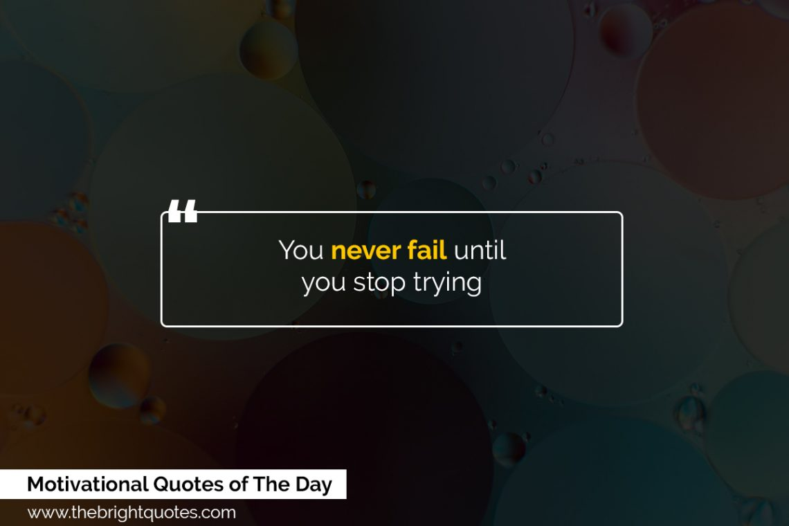 motivational quotes of the day featured image