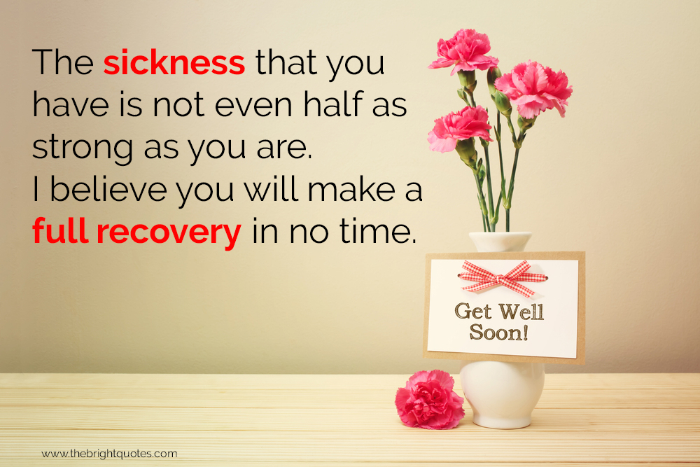 quote on get well soon