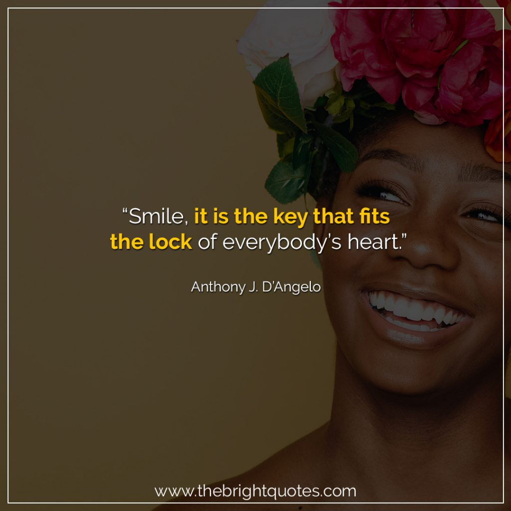 keep smiling quotes for her