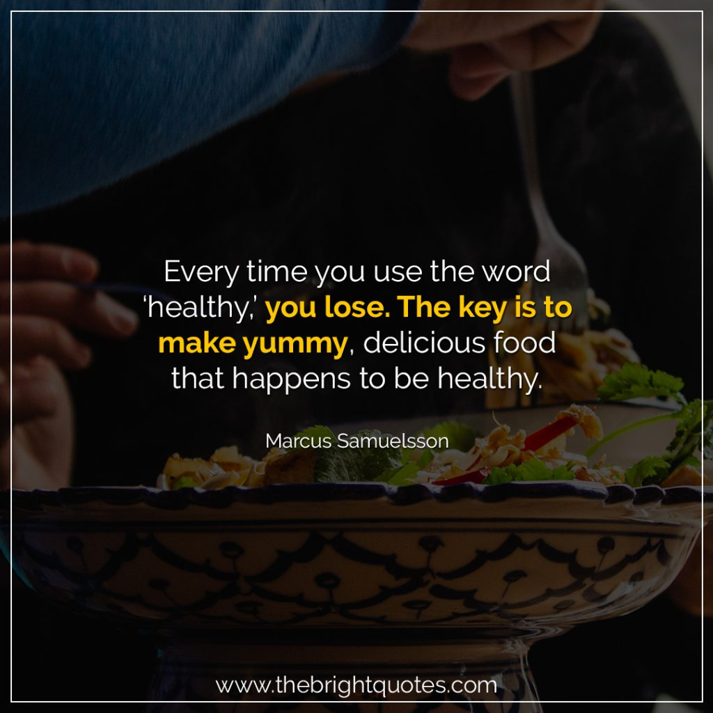 eat healthy quotes