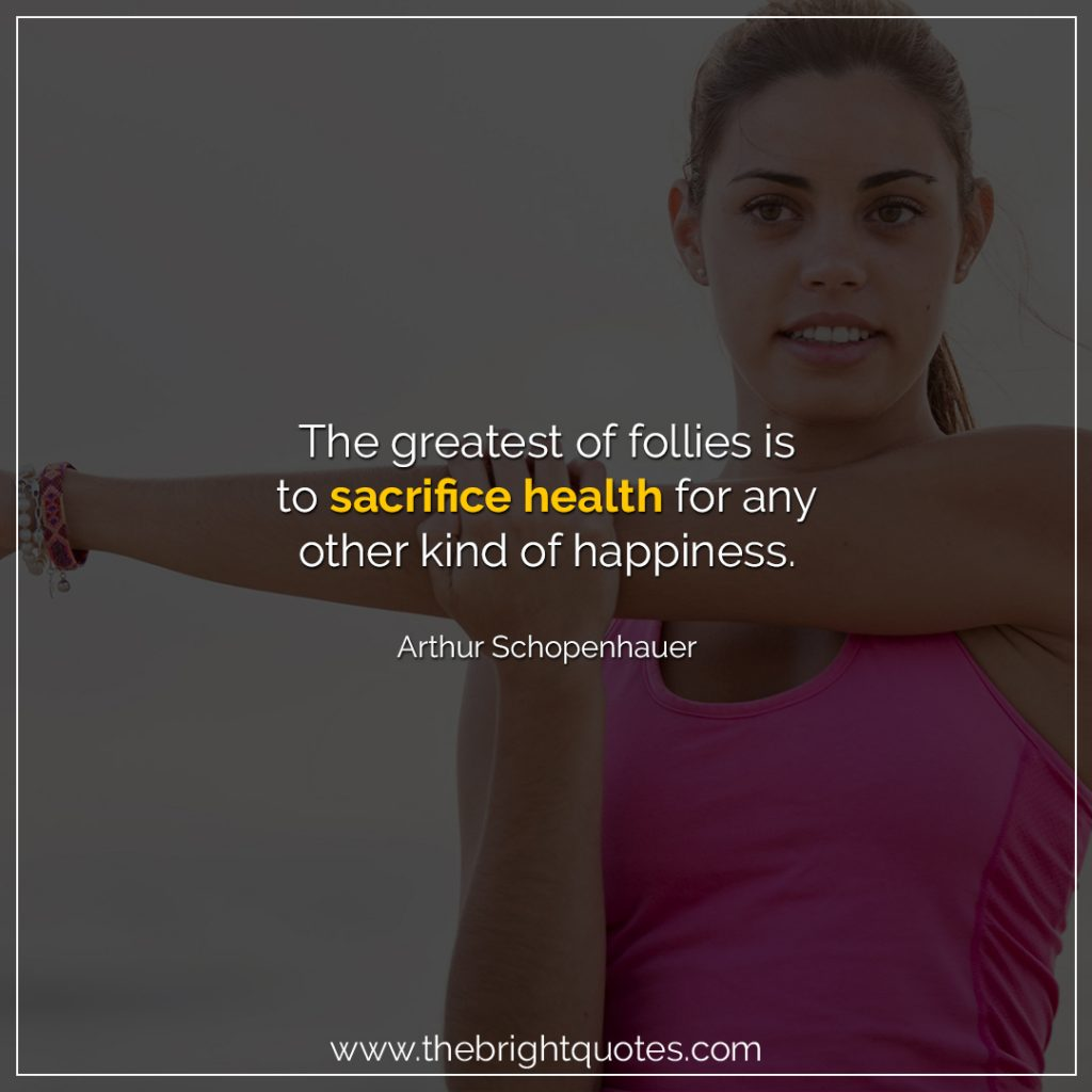 quote for healthy life