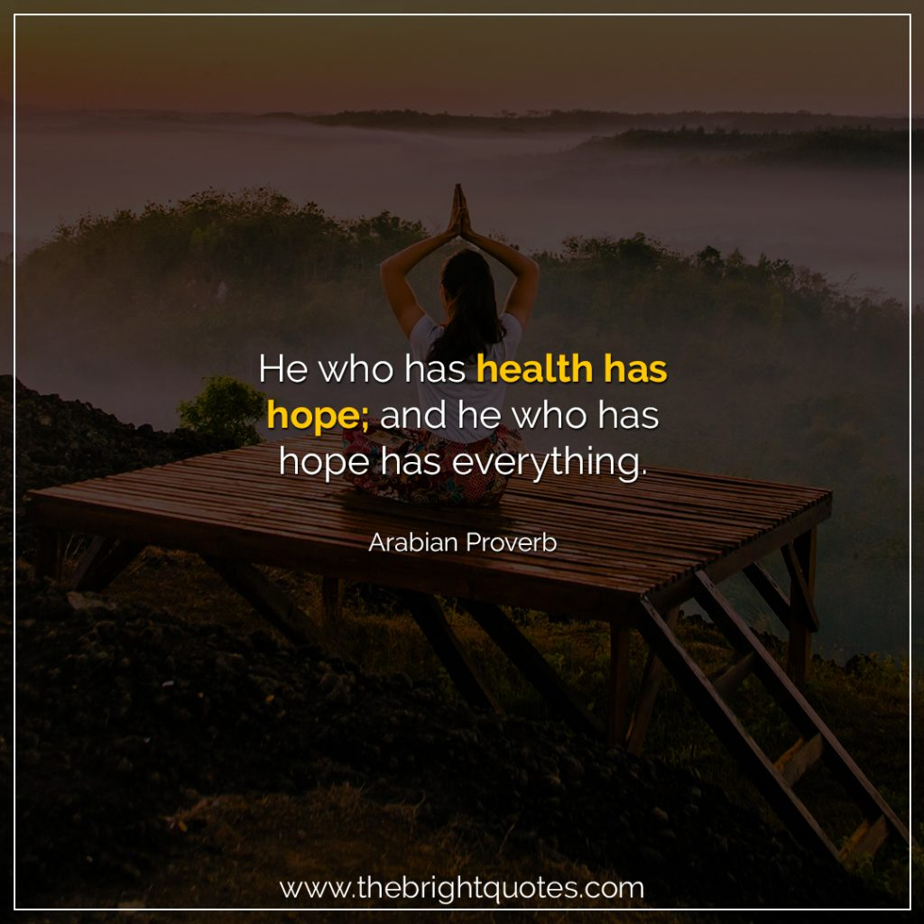 short health quotes