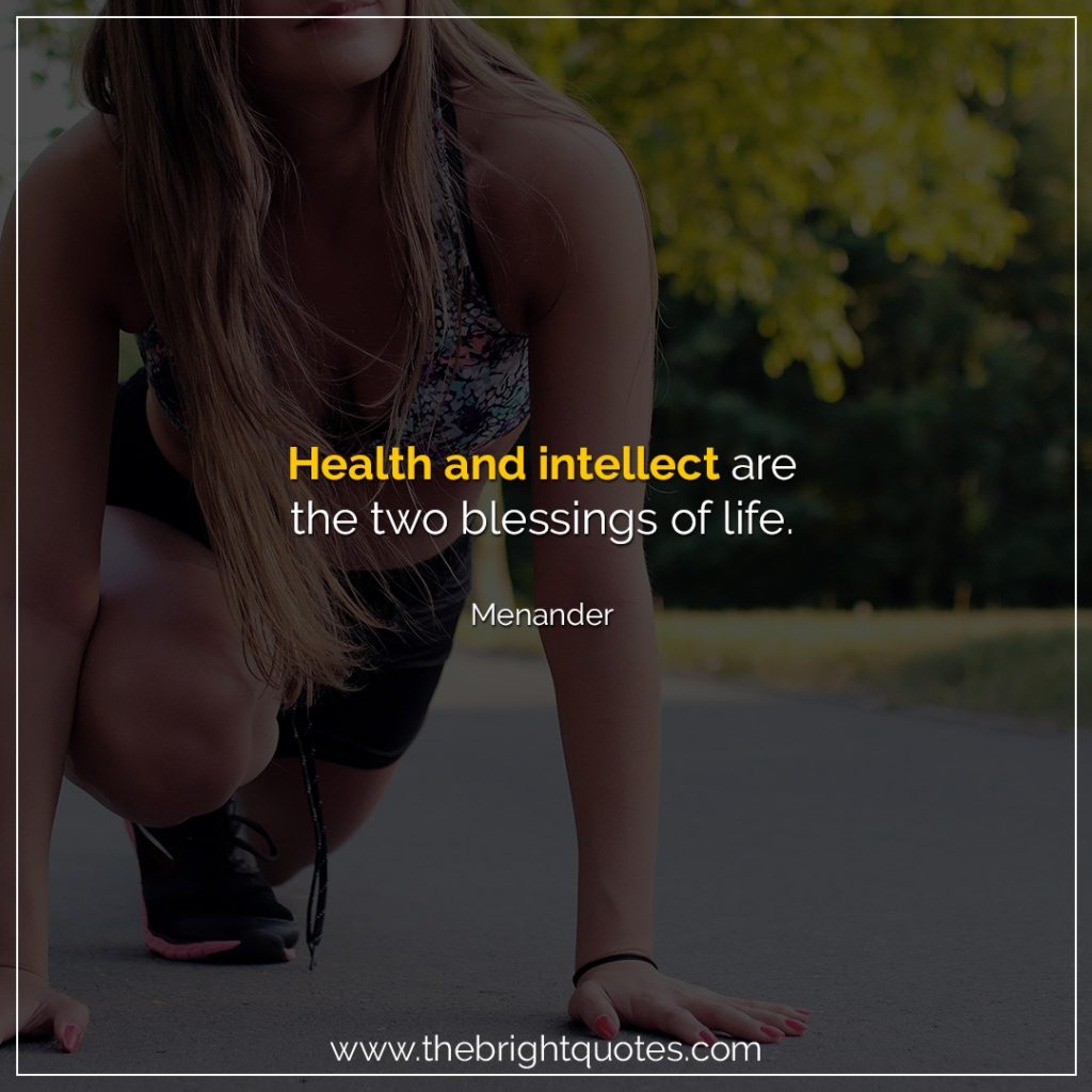 healthy lifestyle quotes with pictures