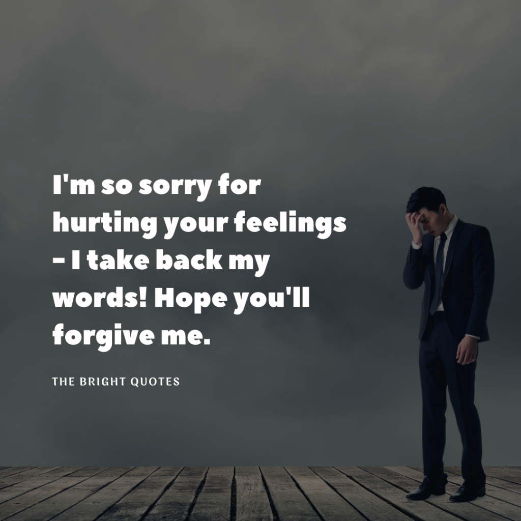 Sorry Quotes for Him