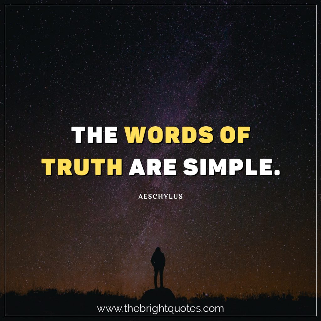 30 Short Quotes About Truth and Sayings with Images - The