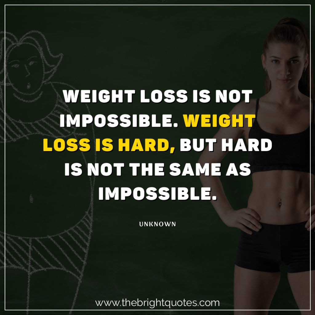 i can lose weight quotes