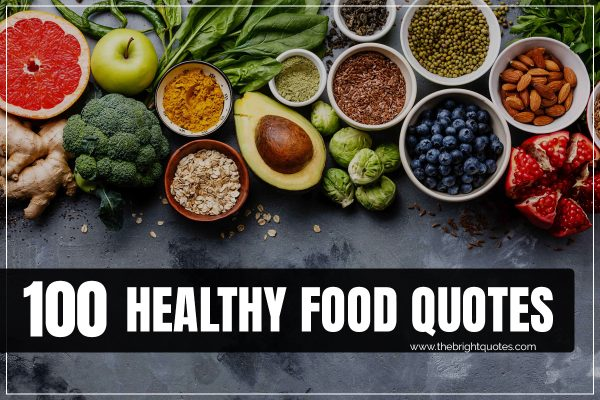 healthy food quotes images featured image
