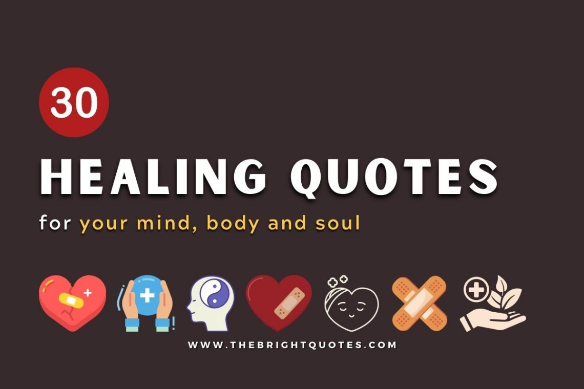 healing quotes featured image