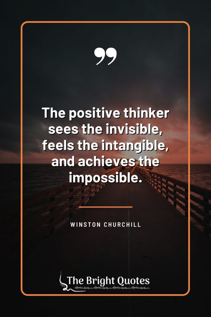 positive thought for work