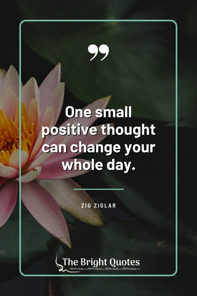 think positive quote images