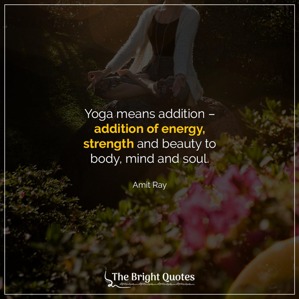 positive yoga quotes