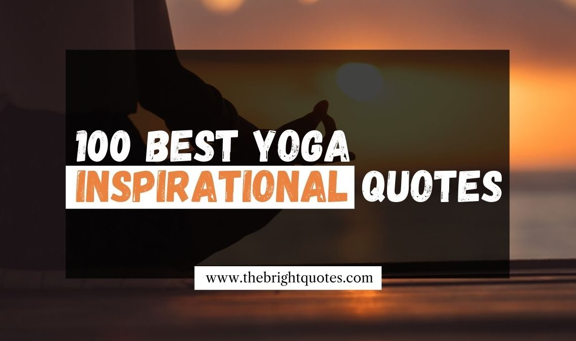 yoga inspirational quotes featured image