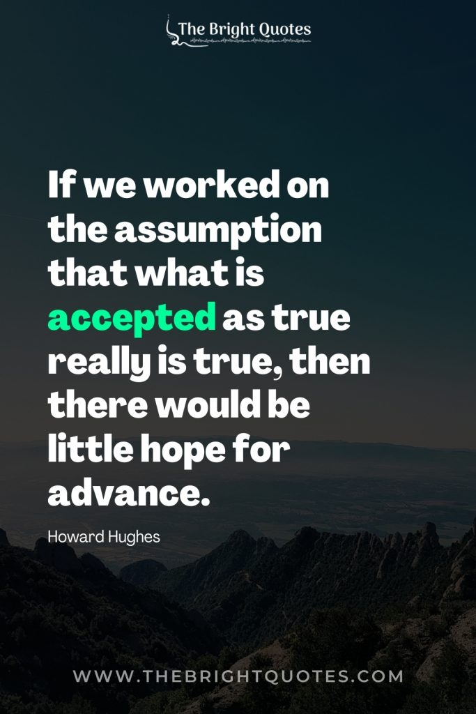 quotes by howard hughes