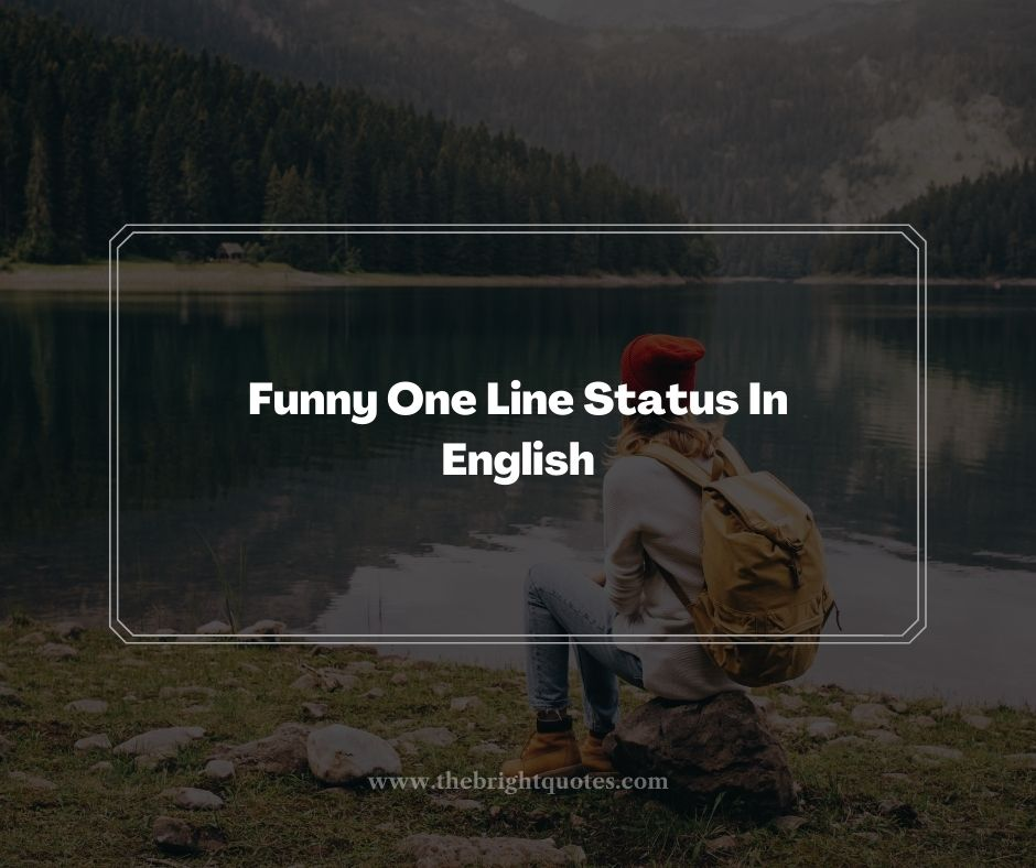 Funny One Line Status In English