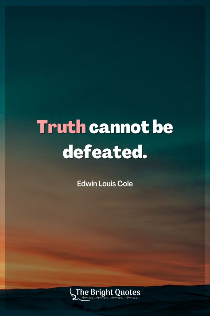 quote about defeat
