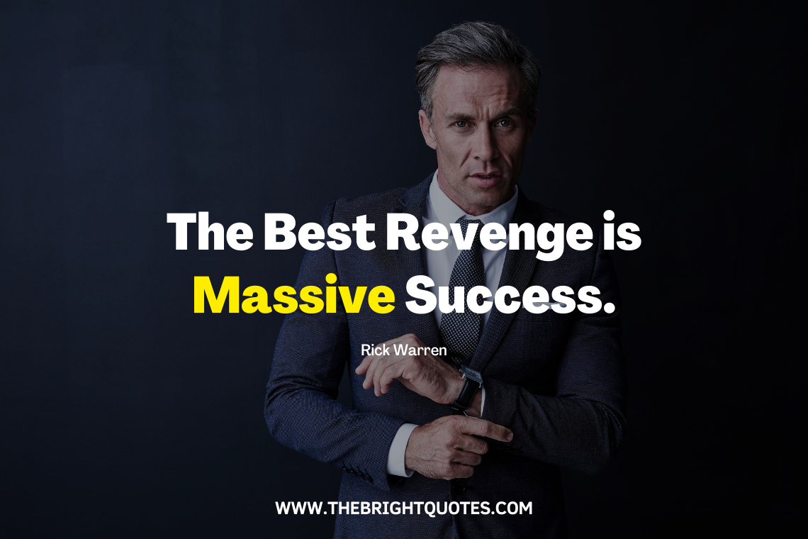 The best revenge is massive success featured image