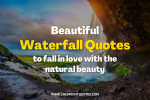 waterfall quotes featured image