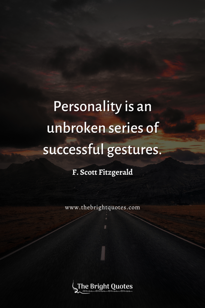 quotes about personality