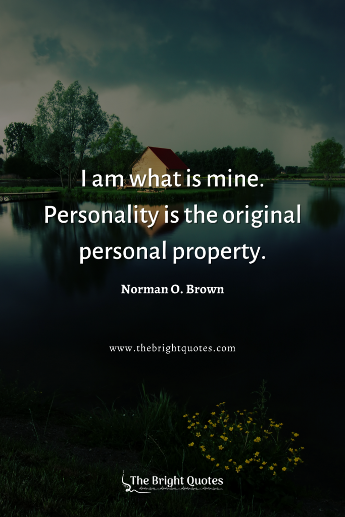 quotes on personality and character